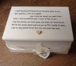 Shabby Personalised Chic Jewellery Box Mother Of The Groom Wedding gift